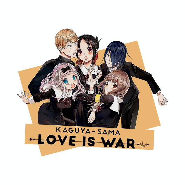 kaguya sama, love is war