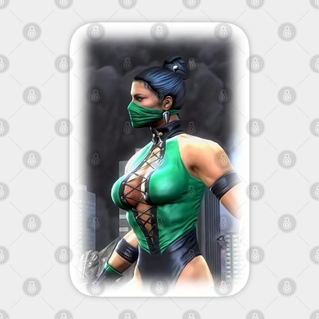 Jade Mortal Kombat Mk 11 Good Characters Poster Mask And More