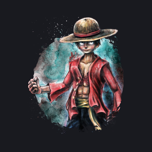 The Pirate King Portrait Luffy