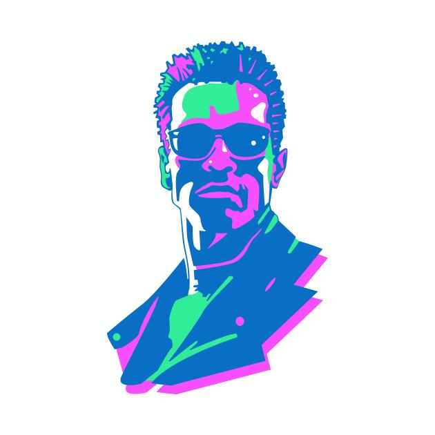 Retro 80s Terminator