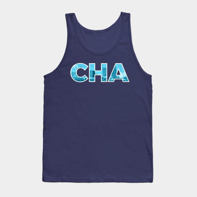 3dc8257c4bcd8b Charlotte Hornets CHA Skyline - Charlotte Hornets - Tank Top