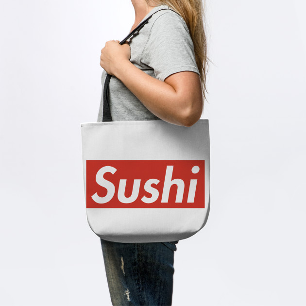 Supreme Sushi brand logo - Foodie / Food lover - gift idea