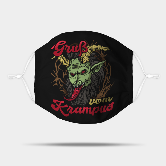 Gruss vom Krampus I Christmas Demon design
