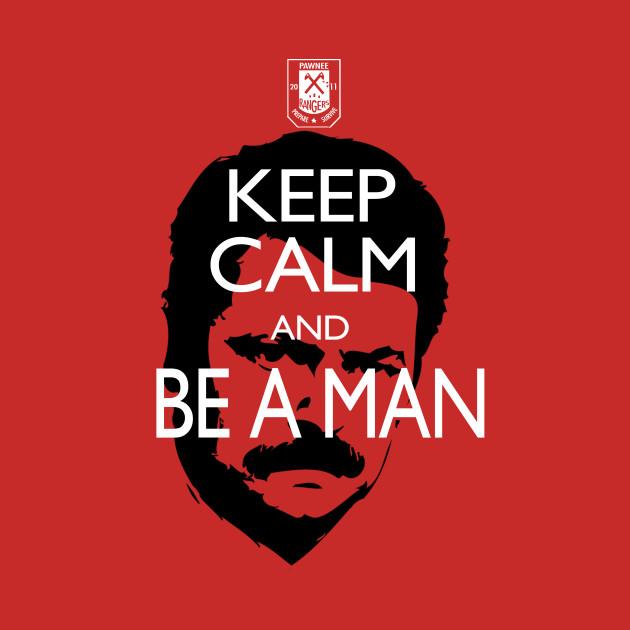 Keep Calm Ron Swanson