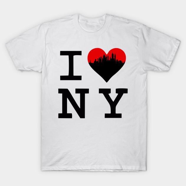 20b69ce3 I Heart NY | I Love New York - I Heart Ny - T-Shirt | TeePublic