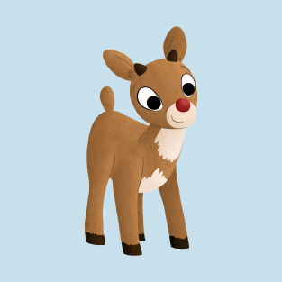 e01d86ac75ffd Rudolph The Red Nosed Reindeer T-Shirts | TeePublic