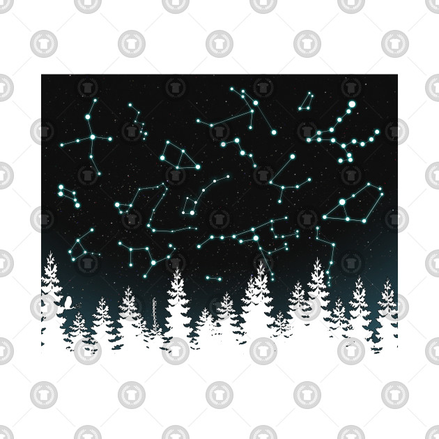 Constellations V2 (Trees are Transparent)