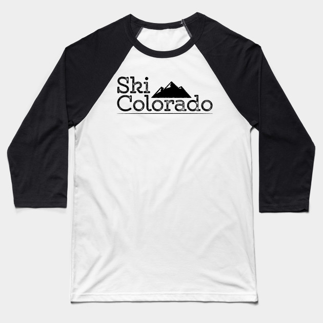 Vintage Ski Colorado T-Shirt Design