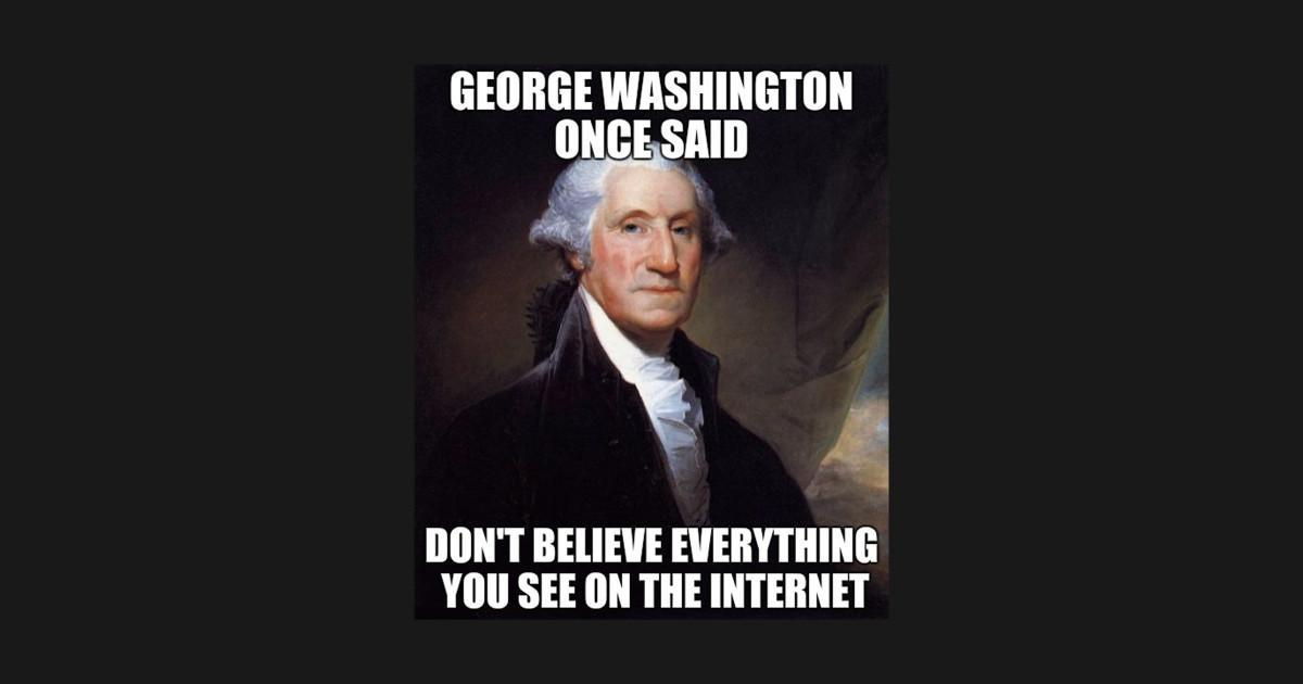 George Washington Christmas Meme.Funny George Washington History Meme By Merchdudes