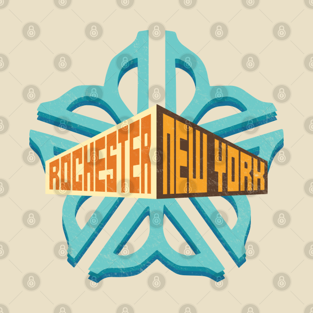 Officially Licensed Rochester Logo