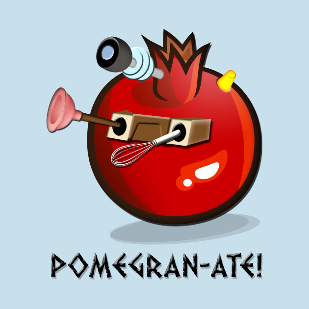 DALEK POMEGRAN-ATE!