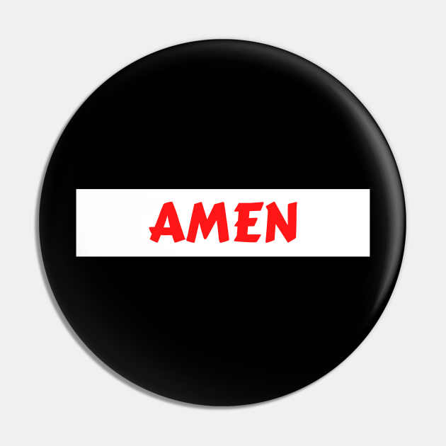 Amen - So Be It - Christian