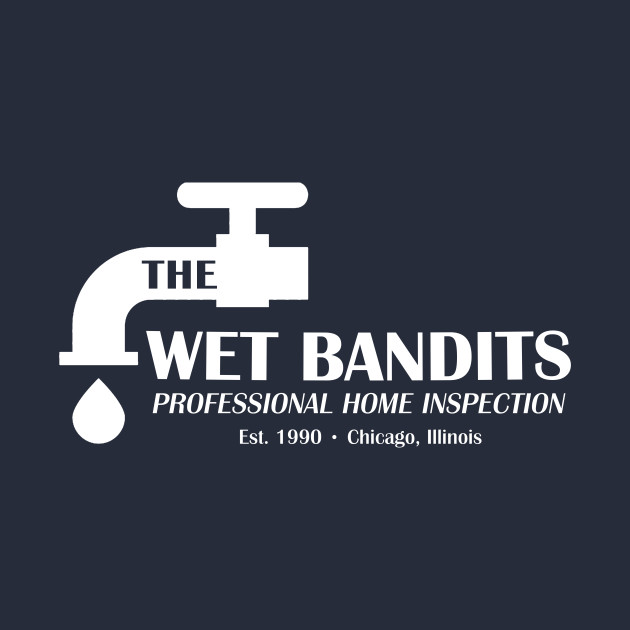 Wet Bandits Home Inspection, Funny Home Alone Shirt