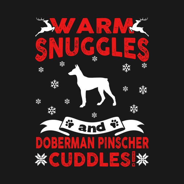 Doberman Pinscher Ugly Christmas Sweater Doberman Pinscher Ugly