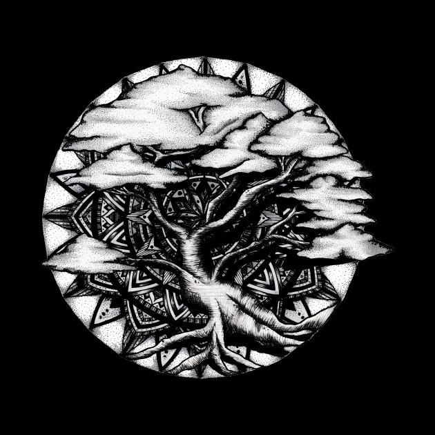 Bonsai Tree Mandala