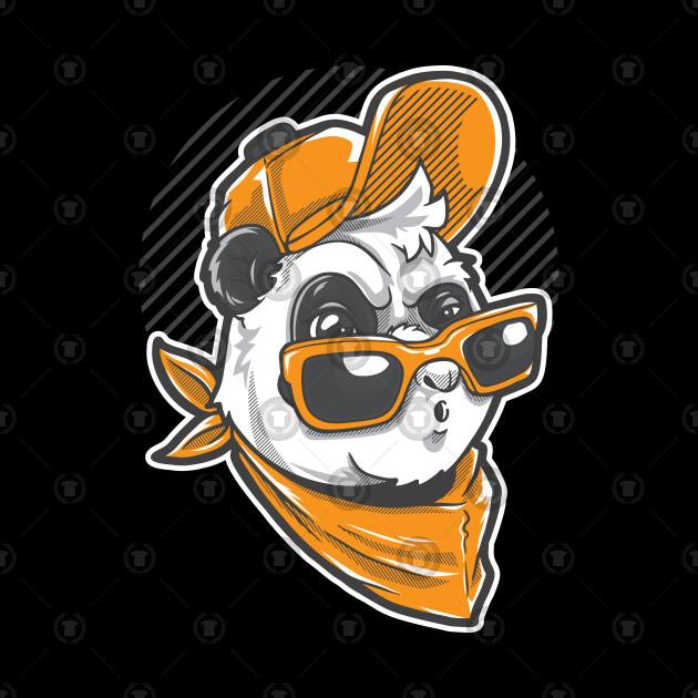 Urban Panda boy illustration