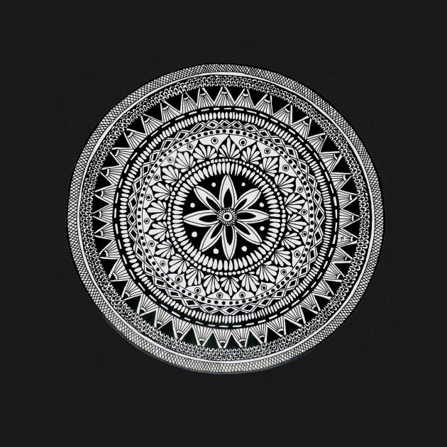 A4 Mandala 9 Mandala T Shirt Teepublic