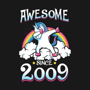 9 Years Birthday Card T Shirts
