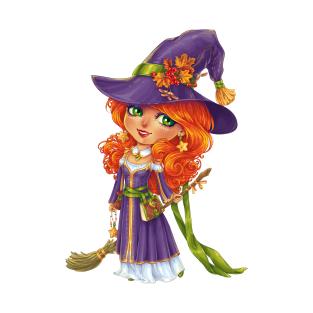Hallowween Witch Chibi