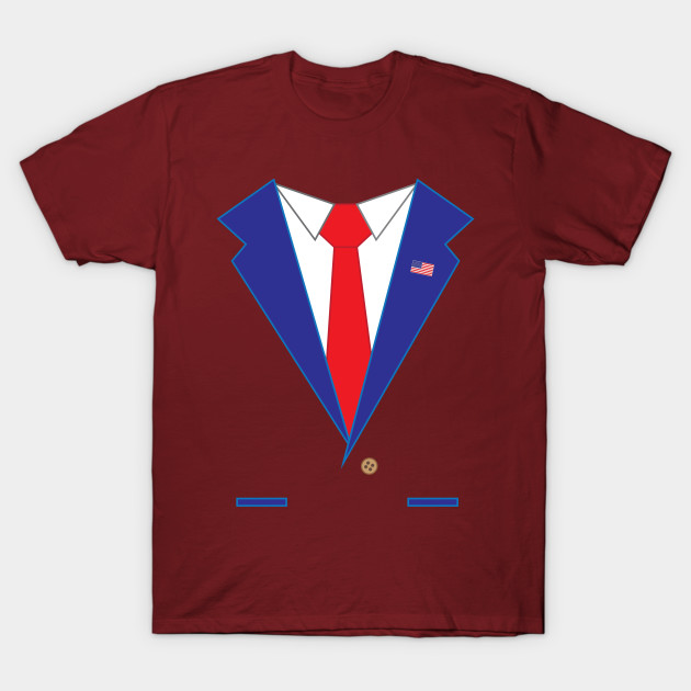 2017 HALLOWEEN PRESIDENTIAL SUIT T SHIRT T-Shirt-TOZ