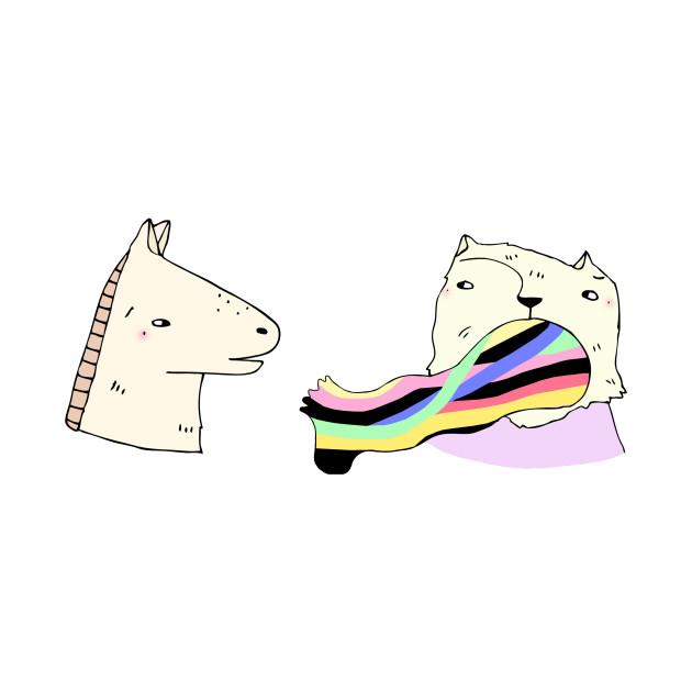 Rainbow Foot