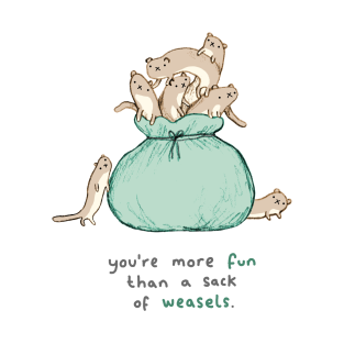 Sack of Weasels t-shirts