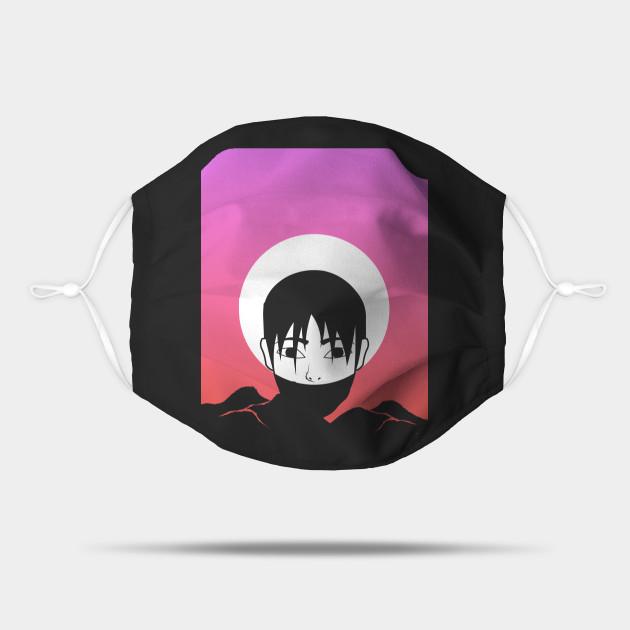 Aesthetic Vaporwave Anime Boy