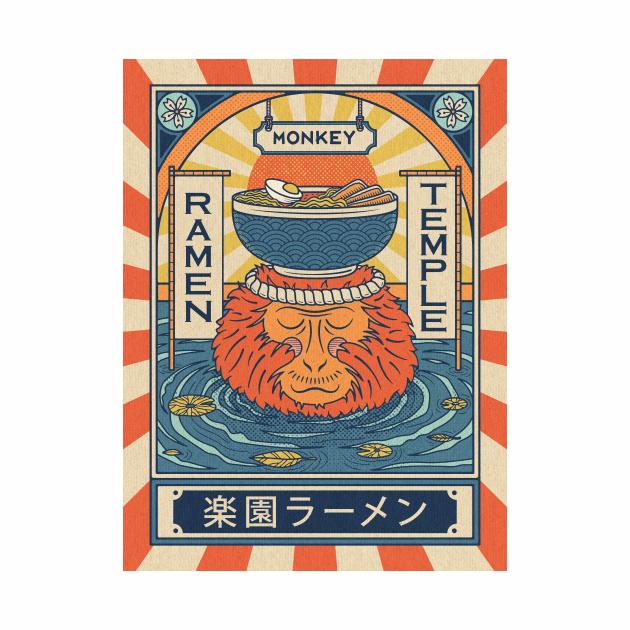 Ramen Temple Monkey