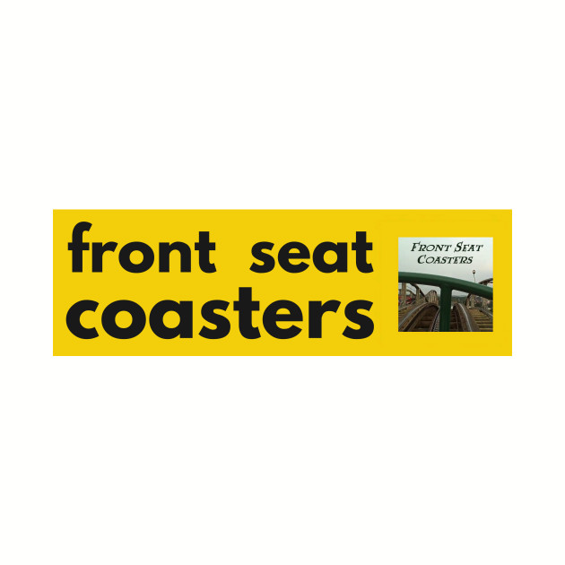 Front Seat Coasters modern classic logo 2017