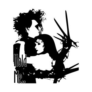 Hold Me - Edward Scissorhands t-shirts