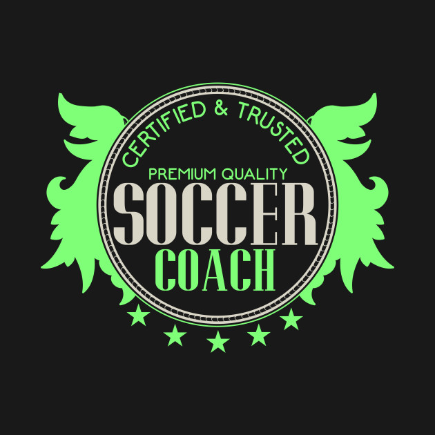 Soccer Coach Seal Badge   Football Sport Quality