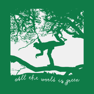 Tom Waits - All the World is Green t-shirts