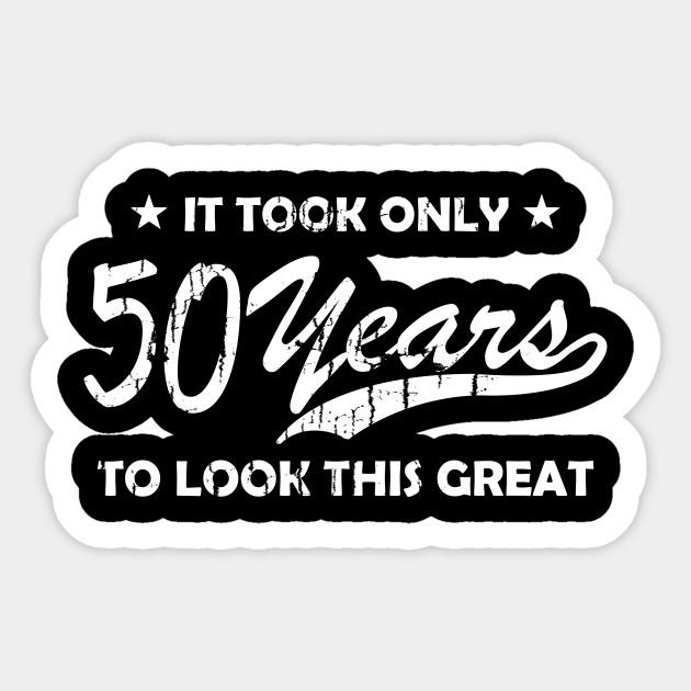 Cool 50th Birthday Vintage Gift