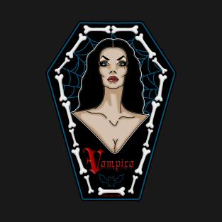Vampira Coffin Babe t-shirts