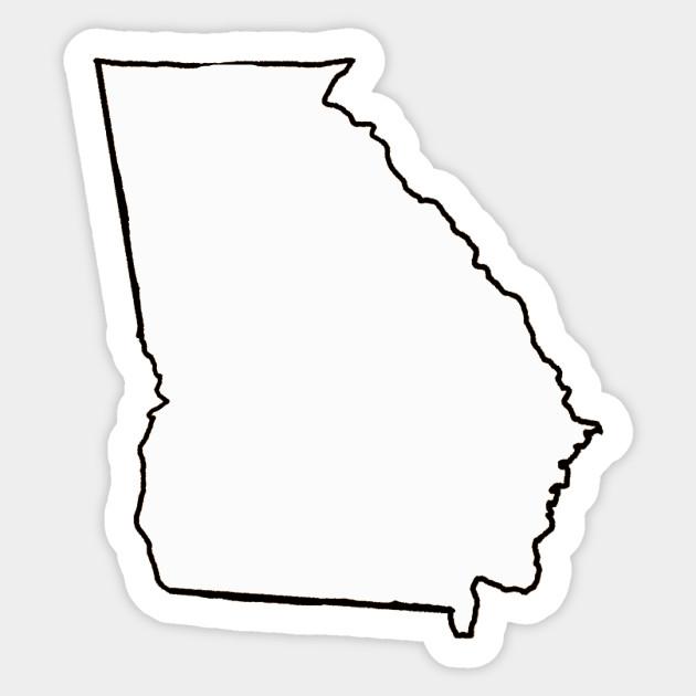 georgia - blank outline - georgia