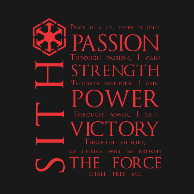 The Sith Code