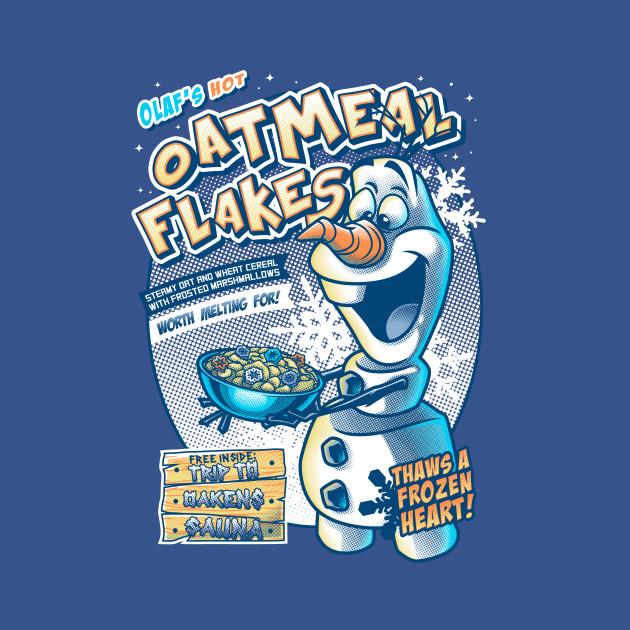 Olaf's Hot Oatmeal Flakes