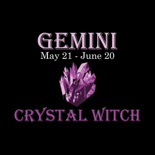 Gemini Crystal Witch | Zodiac