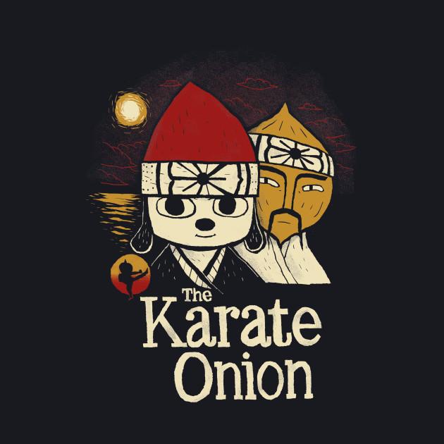 the karate onion