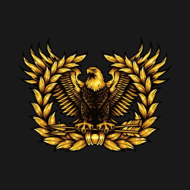 Warrant Officer Rising Eagle Warrant Officer T Shirt
