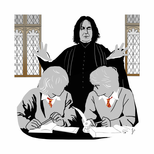 Discipline - Potter, Weasley & Snape