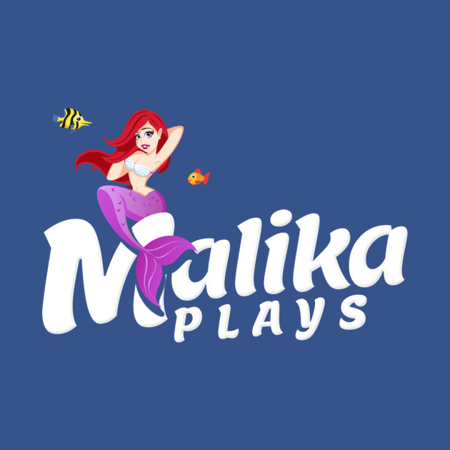 MalikaPlays Mermaid Logo