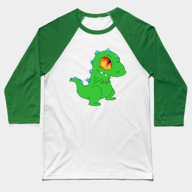 Reptar! - Rugrats Reptar - Baseball T-Shirt