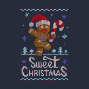 Sweet Christmas Ugly Sweater t-shirts