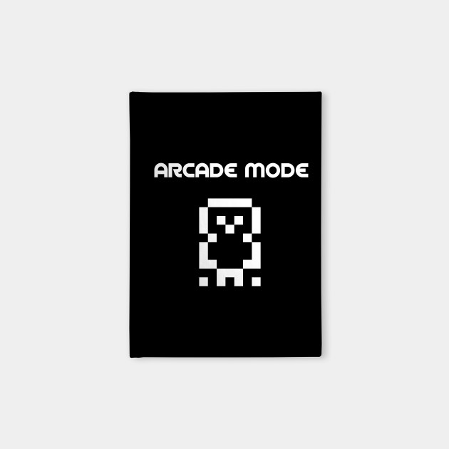 ARCADE MODE PIXEL CHARACTER