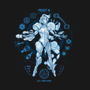 PROJECT M - Blue Print Edition t-shirts