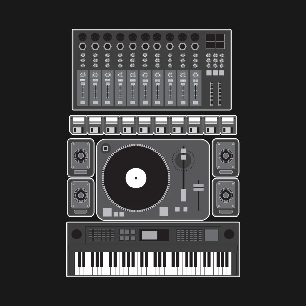Old School Hip Hop Rap Music Beat Maker DJ Gift