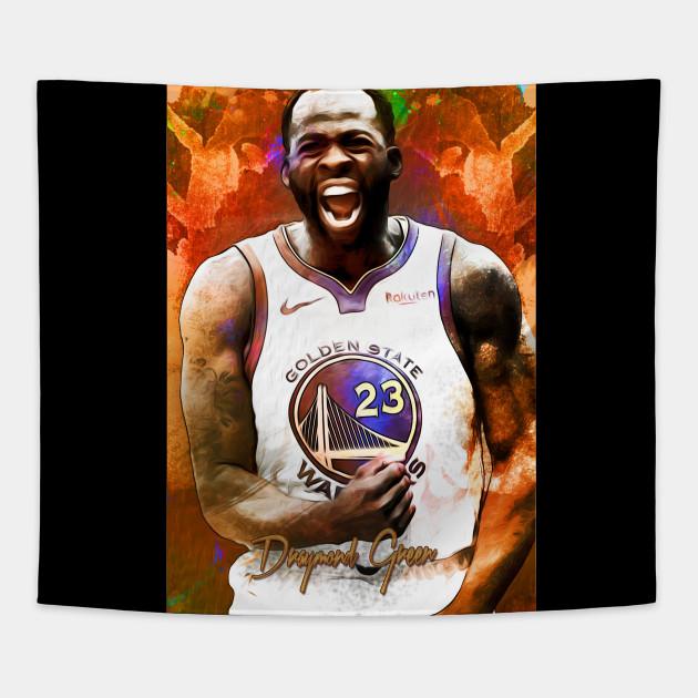 hot sale online 1c9d6 01124 Golden State Warriors Draymond Green Paint Merchandise