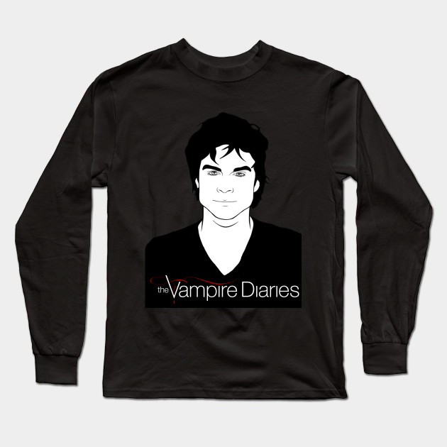 Vampire Diaries Vampire Diaries Long Sleeve T Shirt Teepublic