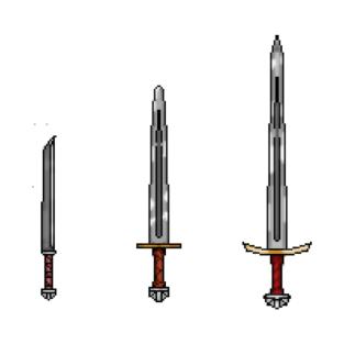 Pixel Swords t-shirts